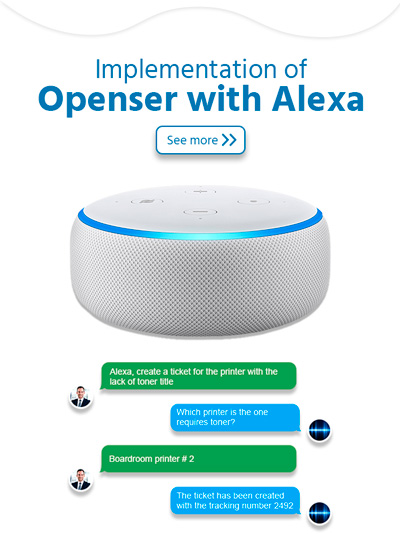 ticketing software with alexa